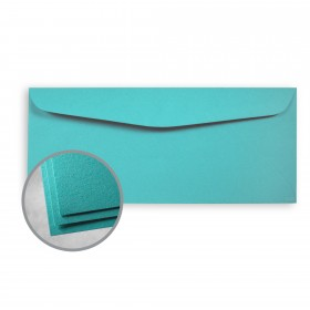 Astrobrights Terrestrial Teal Envelopes - No. 10 Commercial (4 1/8 x 9 1/2) 60 lb Text Smooth  30% Recycled 500 per Box