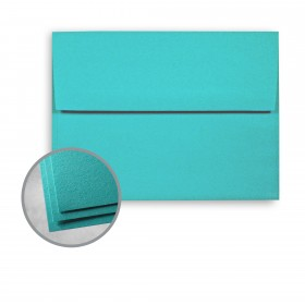 Astrobrights Terrestrial Teal Envelopes - A7 (5 1/4 x 7 1/4) 60 lb Text Smooth  30% Recycled 250 per Box