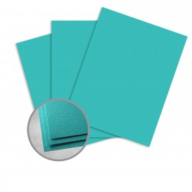 Astrobrights Terrestrial Teal Card Stock - 23 x 35 in 80 lb Cover Smooth  30% Recycled 500 per Carton