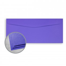Astrobrights Venus Violet Envelopes - No. 10 Commercial (4 1/8 x 9 1/2) 60 lb Text Smooth 500 per Box