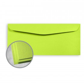 Astrobrights Vulcan Green Envelopes - No. 10 Commercial (4 1/8 x 9 1/2) 60 lb Text Smooth 500 per Box