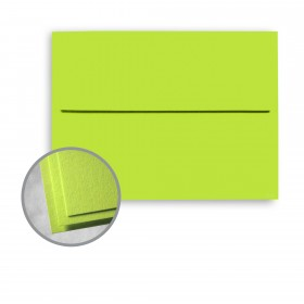 Astrobrights Vulcan Green Envelopes - A6 (4 3/4 x 6 1/2) 60 lb Text Smooth 250 per Box