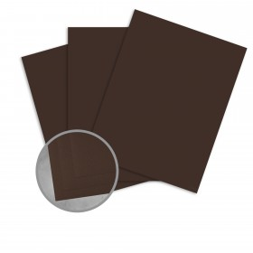 Astroking Brown Stone Card Stock - 28.3 x 40.2 in 89 lb Cover Satin C/2S 100 per Carton