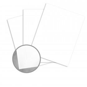 Astroking Snow White Card Stock - 28.3 x 40.2 in 89 lb Cover Satin C/2S 100 per Carton