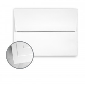 Astrolite Brilliant White Envelopes - A6 (4 3/4 x 6 1/2) 70 lb Text Silk 250 per Box