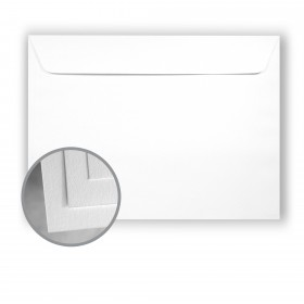 Astrolite Brilliant White Envelopes - No. 9 1/2 Booklet (9 x 12) 28/70 lb Writing/Text Vellum 500 per Carton