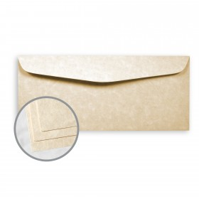 Astroparche Aged Envelopes - No. 10 Commercial (4 1/8 x 9 1/2) 60 lb Text Vellum  30% Recycled 500 per Box