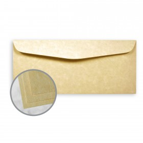 Astroparche Ancient Gold Envelopes - No. 10 Commercial (4 1/8 x 9 1/2) 60 lb Text Vellum  30% Recycled 500 per Box