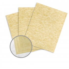 Astroparche Ancient Gold Card Stock - 23 x 35 in 65 lb Cover Vellum  30% Recycled 500 per Carton