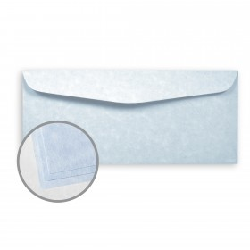 Astroparche Blue Envelopes - No. 10 Commercial (4 1/8 x 9 1/2) 60 lb Text Vellum  30% Recycled 500 per Box