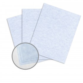 Astroparche Blue Paper - 8 1/2 x 11 in 60 lb Text Vellum  30% Recycled 500 per Ream