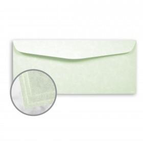 Astroparche Celadon Envelopes - No. 10 Commercial (4 1/8 x 9 1/2) 60 lb Text Vellum  30% Recycled 500 per Box