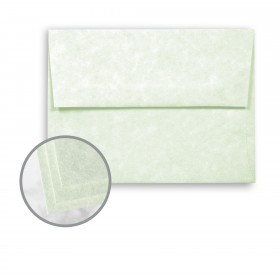 Astroparche Celadon Envelopes - A7 (5 1/4 x 7 1/4) 60 lb Text Vellum  30% Recycled 250 per Box