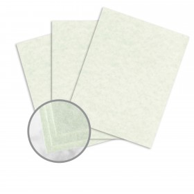 Astroparche Celadon Card Stock - 8 1/2 x 11 in 65 lb Cover Vellum  30% Recycled 250 per Package