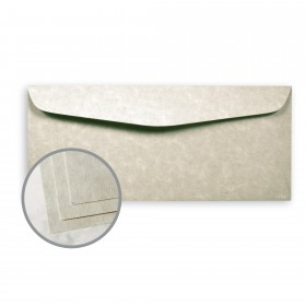 Astroparche Gray Envelopes - No. 10 Commercial (4 1/8 x 9 1/2) 60 lb Text Vellum  30% Recycled 500 per Box