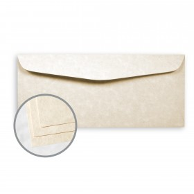 Astroparche Natural Envelopes - No. 10 Commercial (4 1/8 x 9 1/2) 60 lb Text Vellum  30% Recycled 500 per Box