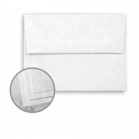 Astroparche White Envelopes - A7 (5 1/4 x 7 1/4) 60 lb Text Vellum  30% Recycled 250 per Box
