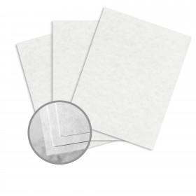 Astroparche White Paper - 8 1/2 x 11 in 60 lb Text Vellum  30% Recycled 500 per Ream