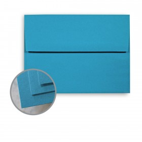 BriteHue Blue Envelopes - A7 (5 1/4 x 7 1/4) 60 lb Text Semi-Vellum  30% Recycled 250 per Box