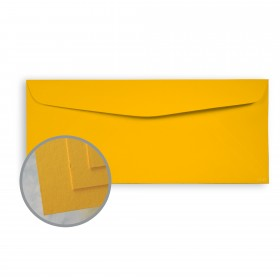 BriteHue Gold Envelopes - No. 10 Commercial (4 1/8 x 9 1/2) 60 lb Text Semi-Vellum  30% Recycled 500 per Box