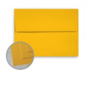 BriteHue Gold Envelopes - A2 (4 3/8 x 5 3/4) 60 lb Text Semi-Vellum  30% Recycled 250 per Box