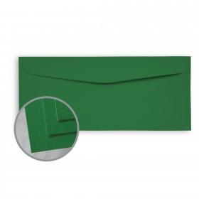 BriteHue Green Envelopes - No. 10 Commercial (4 1/8 x 9 1/2) 60 lb Text Semi-Vellum  30% Recycled 500 per Box