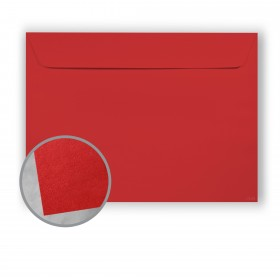BriteHue Red Envelopes - No. 9 1/2 Booklet (9 x 12) 60 lb Text Vellum  30% Recycled 500 per Box