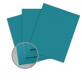 BriteHue Sea Blue Card Stock - 26 x 40 in 65 lb Cover Vellum  30% Recycled 500 per Carton