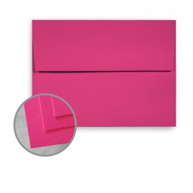 BriteHue Ultra Fuchsia Envelopes - A6 (4 3/4 x 6 1/2) 60 lb Text Semi-Vellum 250 per Box