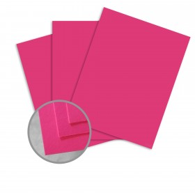 BriteHue Ultra Fuchsia Paper - 8 1/2 x 11 in 20 lb Writing Smooth 500 per Ream
