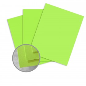 BriteHue Ultra Lime Paper - 8 1/2 x 11 in 20 lb Writing Smooth 500 per Ream