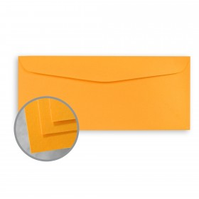 BriteHue Ultra Orange Envelopes - No. 10 Commercial (4 1/8 x 9 1/2) 60 lb Text Semi-Vellum 500 per Box
