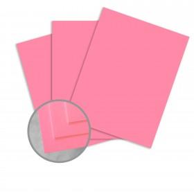 BriteHue Ultra Pink Paper - 8 1/2 x 11 in 60 lb Text Semi-Vellum 500 per ream