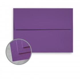 BriteHue Violet Envelopes - A7 (5 1/4 x 7 1/4) 60 lb Text Semi-Vellum  30% Recycled 250 per Box