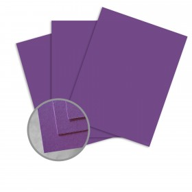 BriteHue Violet Card Stock - 23 x 35 in 65 lb Cover Semi-Vellum  30% Recycled 700 per Carton