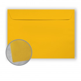 BriteHue Yellow Envelopes - No. 9 1/2 Booklet (9 x 12) 60 lb Text Vellum  30% Recycled 500 per Carton