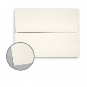 Canaletto Grana Grossa Bianco Envelopes - A8 (5 1/2 x 8 1/8) 85 lb Text Felt  20% Cotton 200 per Box