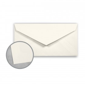 Canaletto Grana Grossa Bianco Envelopes - Monarch (3 7/8 x 7 1/2) 85 lb Text Felt  20% Cotton 400 per Box