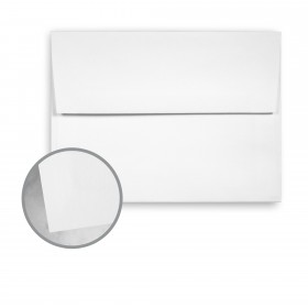 Canaletto Grana Grossa Premium White Envelopes - A7 (5 1/4 x 7 1/4) 85 lb Text Felt  20% Cotton 200 per Box