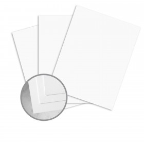 Canaletto Grana Grossa Premium White Paper - 27 1/2 x 39 3/8 in 85 lb Text Felt  20% Cotton 125 per Package