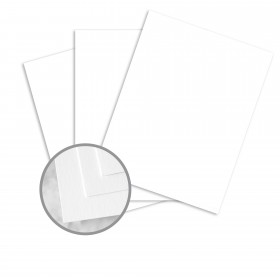 Capitol Bond Bright White Card Stock - 8 1/2 x 11 in 80 lb Cover Smooth 250 per Package
