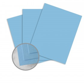 Carnival Blue Paper - 25 x 38 in 70 lb Text Vellum  30% Recycled 1000 per Carton