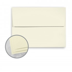 Carnival Ivory Envelopes - A2 (4 3/8 x 5 3/4) 70 lb Text Felt  30% Recycled 250 per Box
