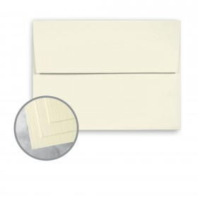 Carnival Ivory Envelopes - A6 (4 3/4 x 6 1/2) 70 lb Text Linen  30% Recycled 250 per Box