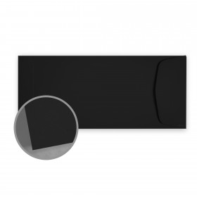 Carnival New Black Envelopes - No. 10 Policy (4 1/8 x 9 1/2) 70 lb Text Vellum  30% Recycled 500 per Box