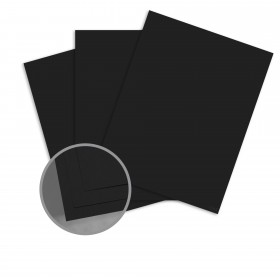 Carnival New Black Card Stock - 19 x 13 in 80 lb Cover Vellum Digital with I-Tone  30% Recycled 500 per Carton
