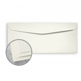 Carnival Soft White Envelopes - No. 10 Commercial (4 1/8 x 9 1/2) 70 lb Text Felt  30% Recycled 500 per Box