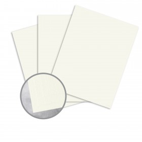 Carnival Soft White Card Stock - 26 x 40 in 100 lb Cover Premium Linen  30% Recycled 300 per Carton