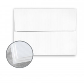Carnival Stellar White Envelopes - A7 (5 1/4 x 7 1/4) 70 lb Text Groove Embossed 250 per Box
