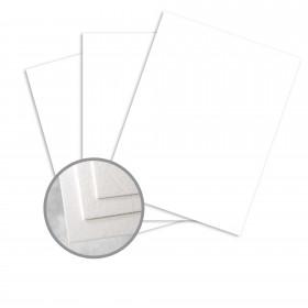 Carnival Stellar White Card Stock - 26 x 40 in 90 lb Cover Cordwain Embossed 400 per Carton